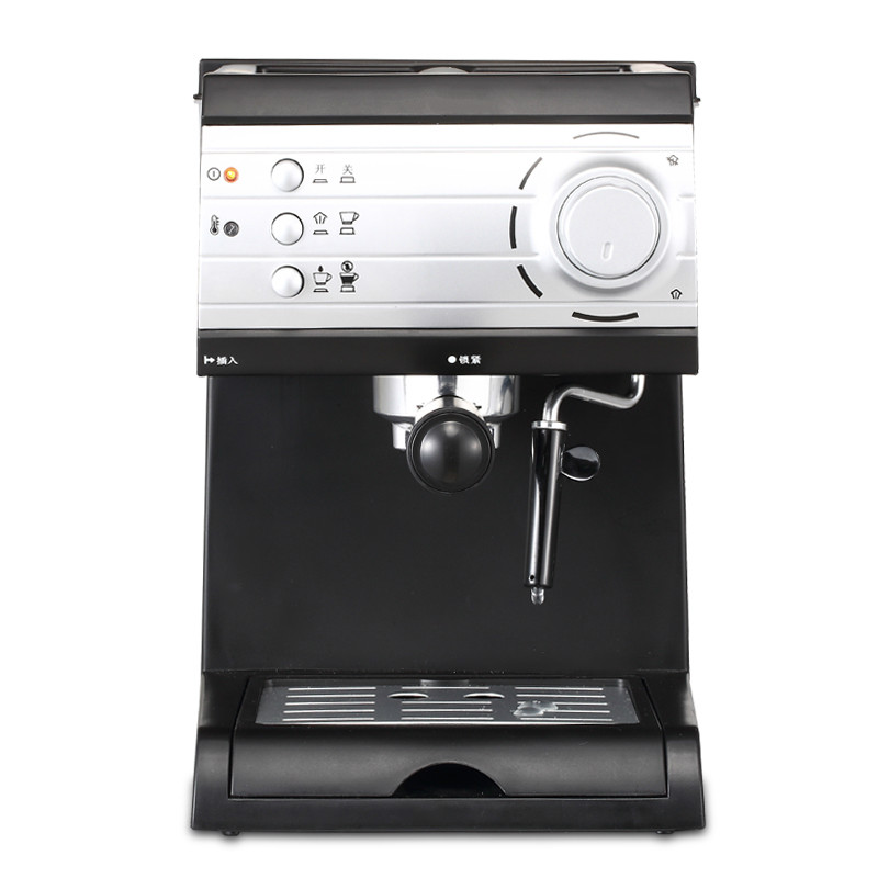 coffee maker USES commercially available full-automatic steam milk foam instant solution Espresso Coffee Maker defender bilberry black 63245