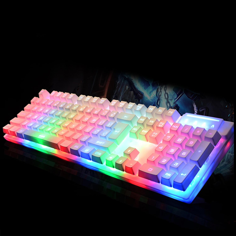 Popular Led Rainbow Keyboard-Buy Cheap Led Rainbow Keyboard lots from China Led Rainbow Keyboard ...