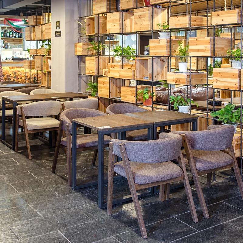 Mode 100% Holz Esszimmer Stuhl Mit Armlehnen, Eiche Sofa, Baumwolle Stoff  Kaffee, Stabstuhl, Cadeira Holz Wohnzimmer Möbel In Mode 100% Holz  Esszimmer Stuhl ...