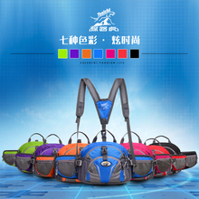 NEW TANLUHU 27*11*21cm Waist Pack Waterproof Nylon Outdoor Sports Hiking Backpack Should Bag 337
