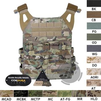 Emerson Tactical Jumpable Plate Carrier EmersonGear JPC Assault Lightweight Combat Vest Body Armor Adjustable MOLLE + Plates