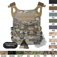 Emerson Tactical Jumpable Plate Carrier EmersonGear JPC Assault Lightweight Combat Vest Body Armor Adjustable MOLLE + Plates