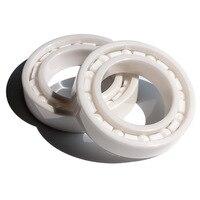 4pcs/10pcs   6201 full Ceramic bearing 12*32*10 mm Zirconia ZrO2 Ceramic ball bearings 12x32x10
