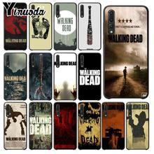 Yinuoda The Walking Dead Hitam Soft Shell Ponsel Cover untuk Huawei Mate10 Lite P20 Pro P9 P10 Plus Mate9 10 honor 9 Pemandangan 10(China)