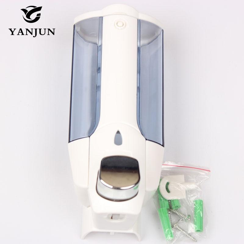 ᐂYanjun 380ml Single Shampoo or Soap Dispenser Liquid Soap Holder ...