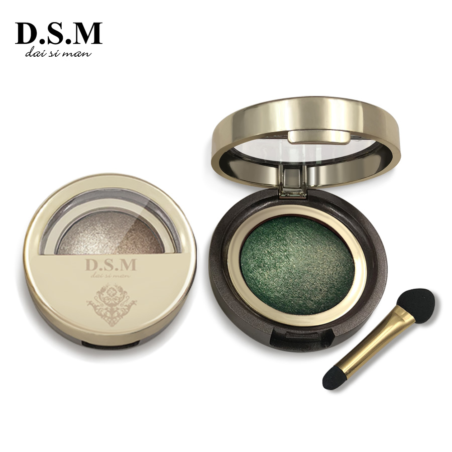 D.S.M Marke Neue Mineralisieren Lidschatten Wasserdicht langlebige Kosmetische Augen Perfekte Shades Leucht Pigment Make-Up Lidschatten