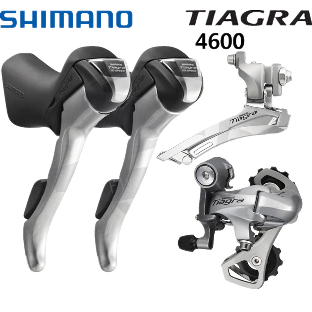 Shimano Sora 3500 Road Bike Groupset Group Set Bicycle Drivetrain Fd Tiagra M4600 4600 2x10 Speed Shifters Derailleur Mini St