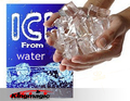 Ice from Water Amazing Magic Tricks Props for Professinal Magician