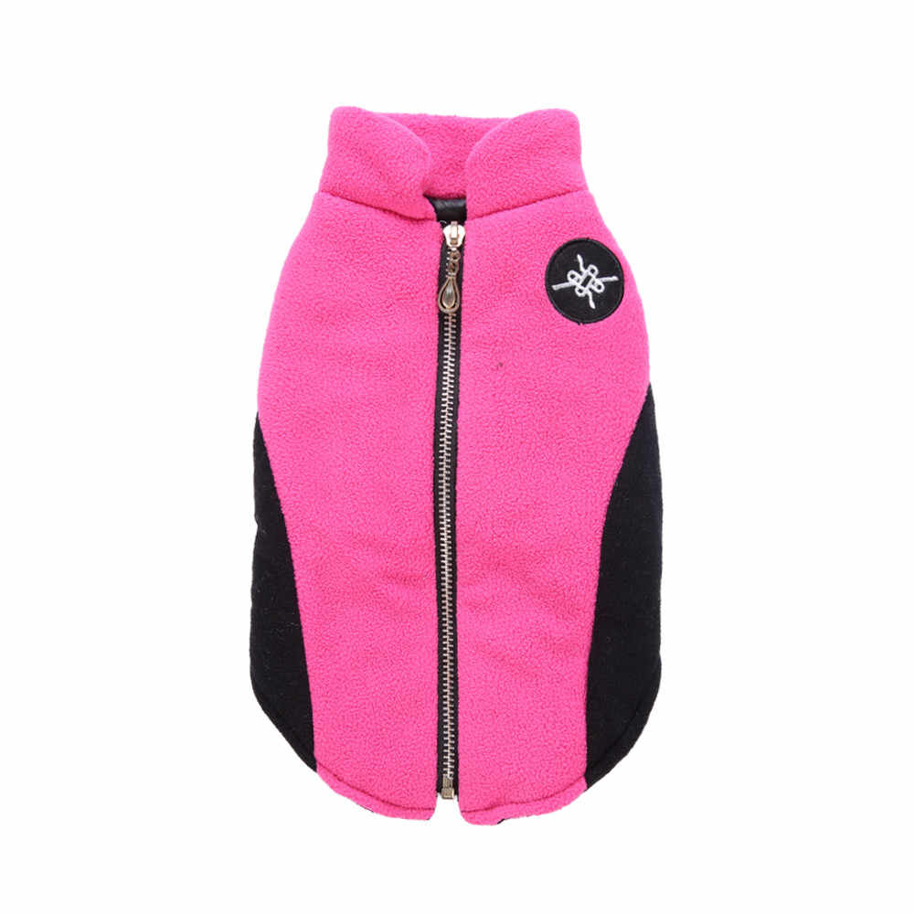 Новинка 2019 года собака одежда водостойкие зимние мягкие теплые однотонные одежда для маленьких собак питомец средних размеров собак