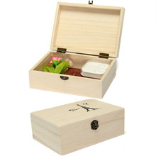 Natural Wooden Storage Boxes