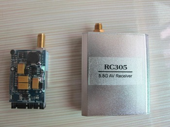 FPV 8CH 200mW 5.8GHz Wireless AV TS351 Transmitter + RC305 Receiver + Antenna ewrf e708tm3 5 8g 48ch 25mw 200mw 600mw switchable fpv transmitter for pwm osd
