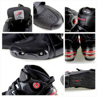 Newest Speed Motorcycle riding shoes, short boots, anti fall racing shoes, spring summer racing boots Collision avoidance