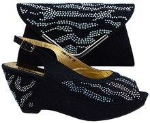 Mode Italienischen Schuh Mit Passender Tasche Für Party Hohe Qualität Afrikanische Frauen Schuh Und Tasche Set Entsprechen 1308-L53