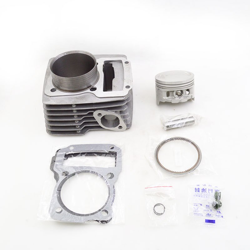 High Quality Motorcycle Cylinder Kit For TY189 TY 189 Bosuer Dirt Bike Engine Spare Parts zoomer ruckus fi nps50 engine frame extend extension kit cables black motorcycle parts