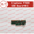 Elephone P7000 Plugue Placa USB Placa do Carregador USB Original + MICROFONE Módulo de Substituição Para P7000 Elephone Smartphones frete grátis