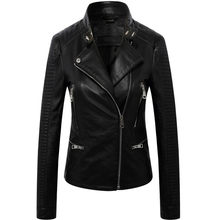 DAJANE locomotive real sheep skin leather female motorcycle jacket  girls coat chelsea
