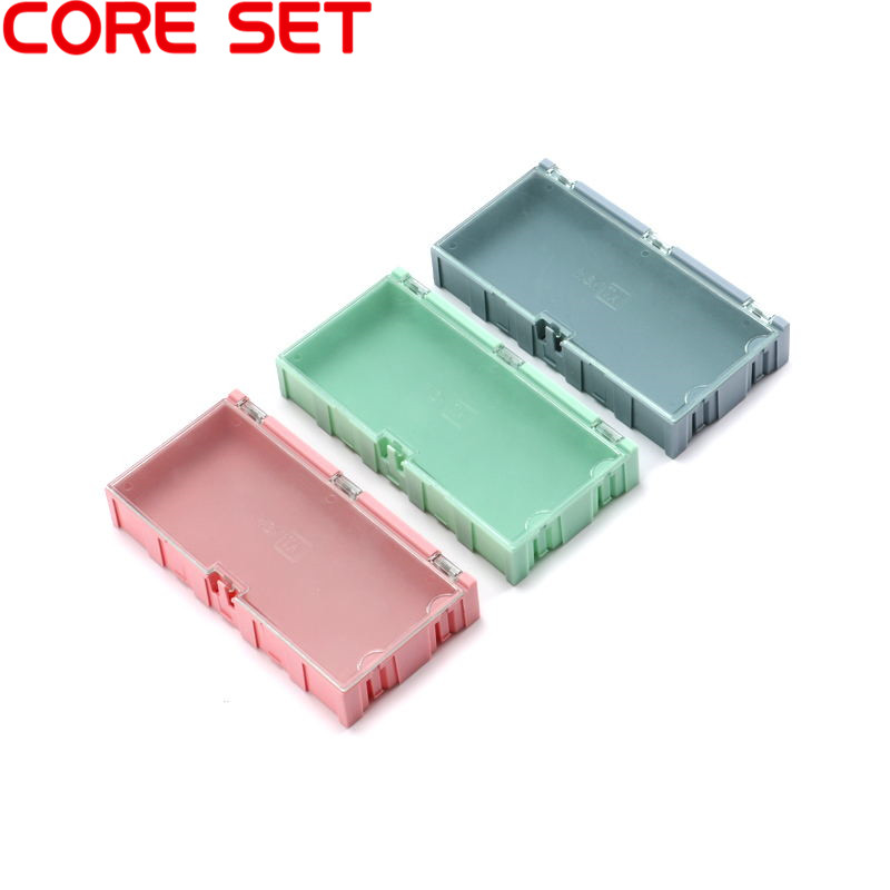 3pcs SMD Storage Box SMT Electronic Component Container Storage Boxes Electronic Case Kit Practical Jewelry Storage Case