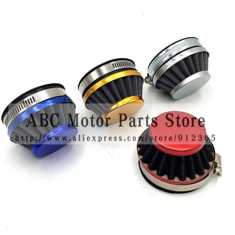 Air filter 58mm for 2 stoke Engine 44cc 49cc Carburetor mini pocket bike mini ATV dirt bike