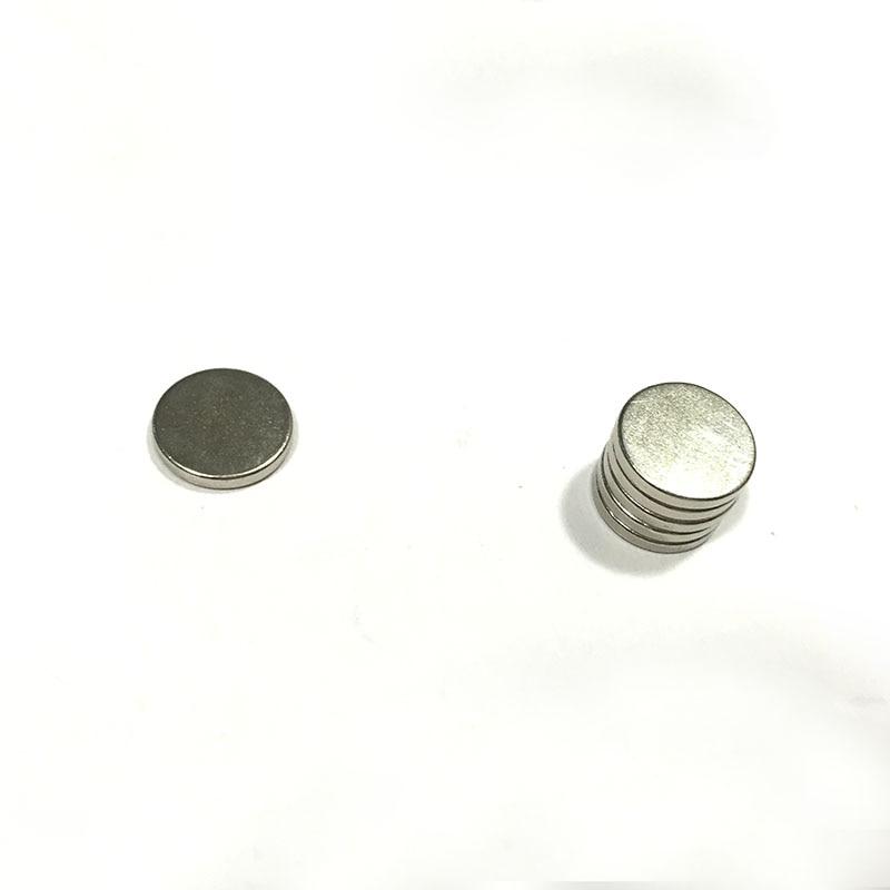 10 X 2 Mm Hidden  Magnet Buttons, Magnetic Earring Findings