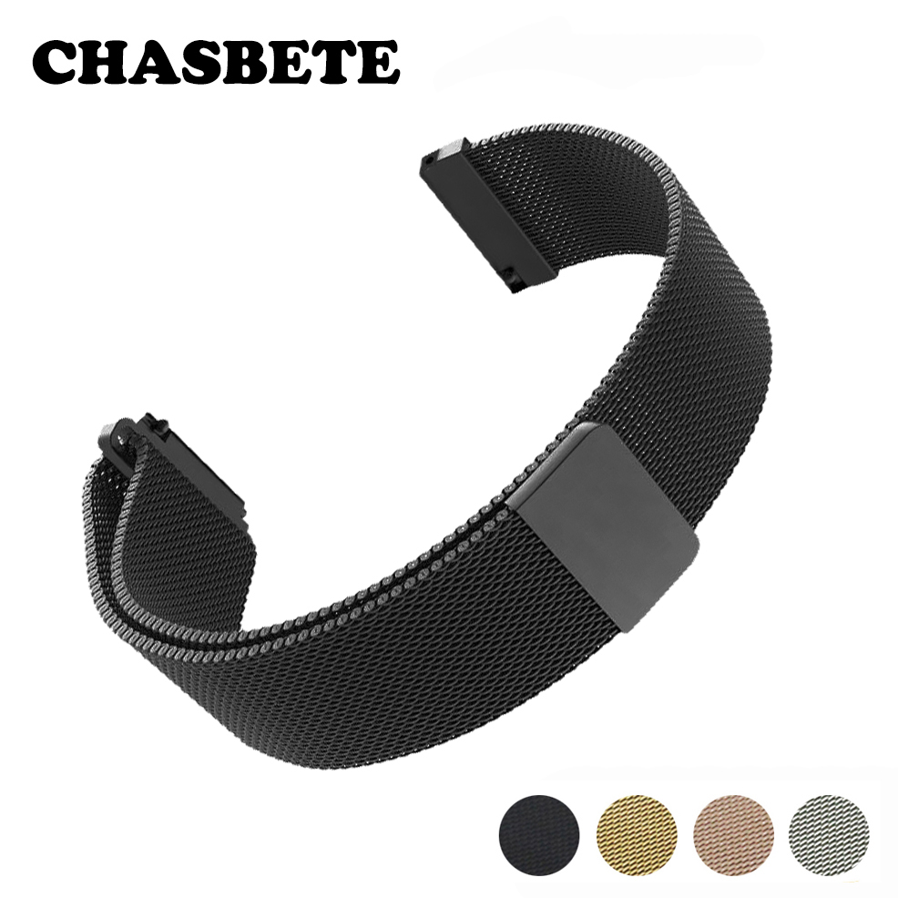 18mm 20mm Stainless Steel Watch Band for DW Daniel Wellington Watchband Magnetic Quick Release Strap Wrist Loop Belt Bracelet