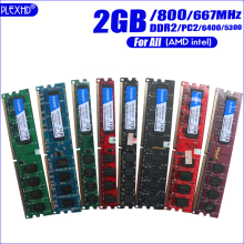 Módulo ddr2 ddr3 pc3 1600mhz 1333mhz 800mhz pc2 667 2gb 4gb 8gb 6400 pinos da memória ram do desktop do pc de plexhd 240 mhz