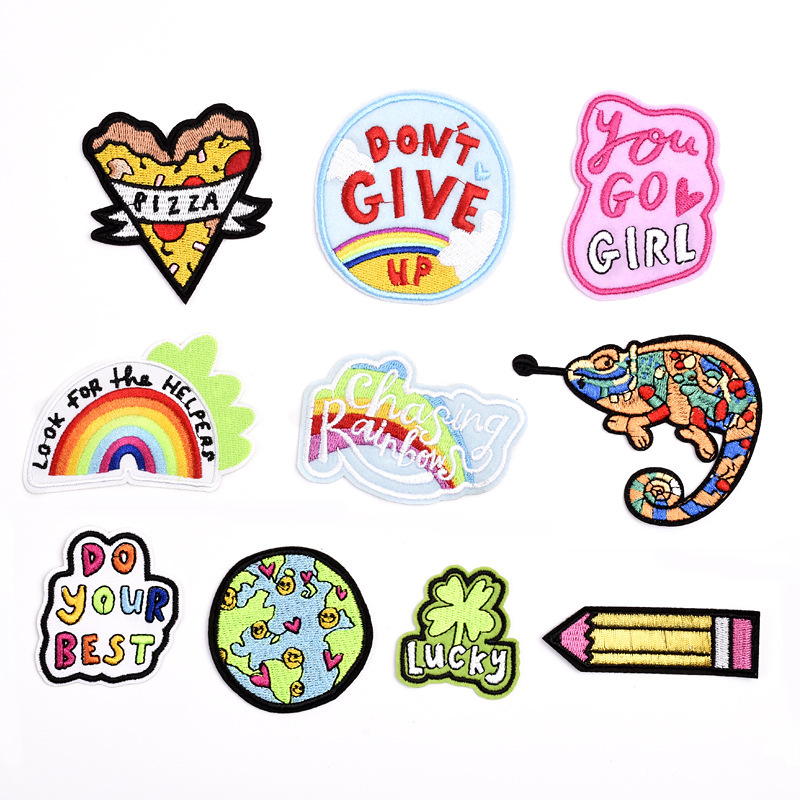 1pcs-font-b-pokemon-b-font-letter-rainbow-patch-fish-cheap-embroidered-cute-patches-kids-iron-on-cartoon-patches-for-clothing-jeans-diy-badges