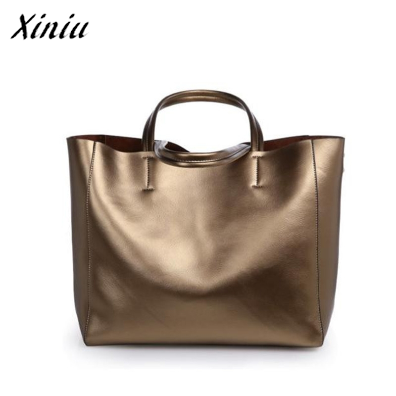 European and American Genuine Leather Women Handbags Fashion Composite Bag Solid Cowhide Shoulder Bag Large Capacity Ladies Bags 2017 esufeir brand genuine leather women handbag fashion shoulder bag solid cowhide composite bag large capacity casual tote bag