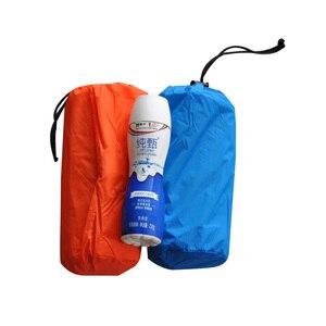 Image 5 - Colchoneta hinchable para dormir, colchoneta de Camping con almohada, colchón de aire, cojín, saco de dormir, sofás inflables para otoño