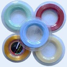 (200m/reel) Sport Tennis Racket String Polyester Racquet Rough 125 17G ALU Power Tennis String Tennis Racket Line