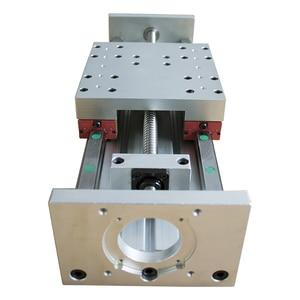 Image 3 - HGR20 prowadnica liniowa stolik przesuwny SFU1605 śruba pociągowa Nema 23 moduł silnika do części drukarki 3d XYZ ramię robota zestaw