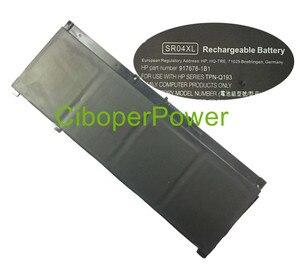Оригинальный аккумулятор для ноутбука 917724-855 15-CE015DX SR04XL 70wH 4.55Ah подлинный аккумулятор