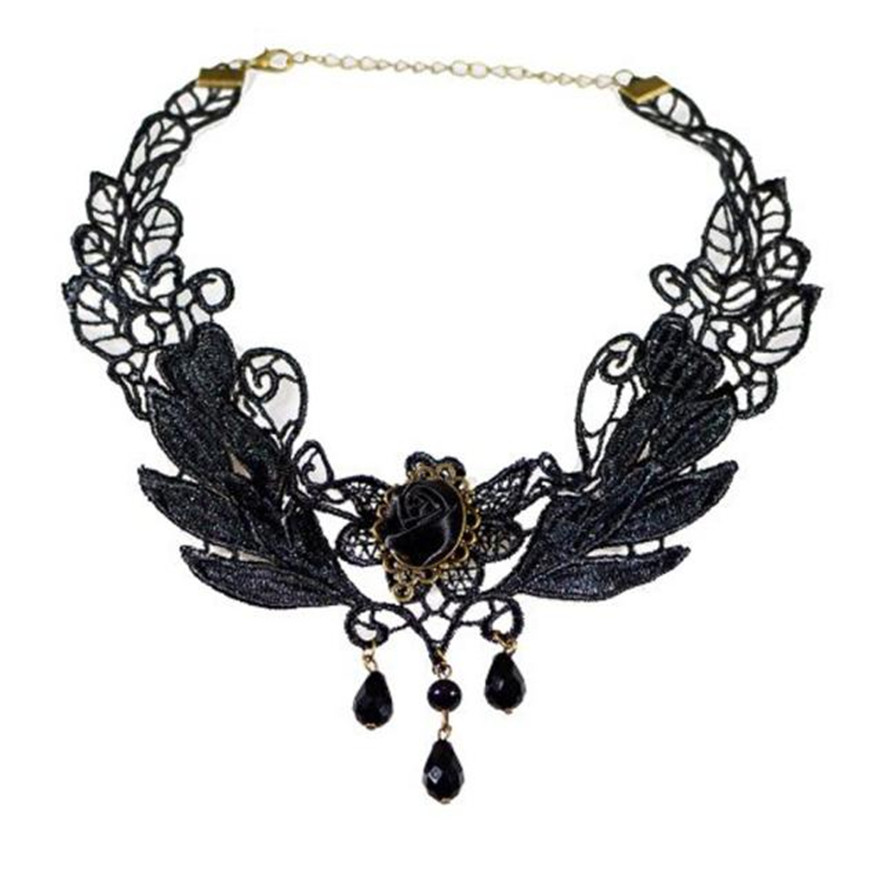 Aliexpress buy diomedes newest necklace jewelry black rose getsubject aeproducttsubject aloadofball Gallery