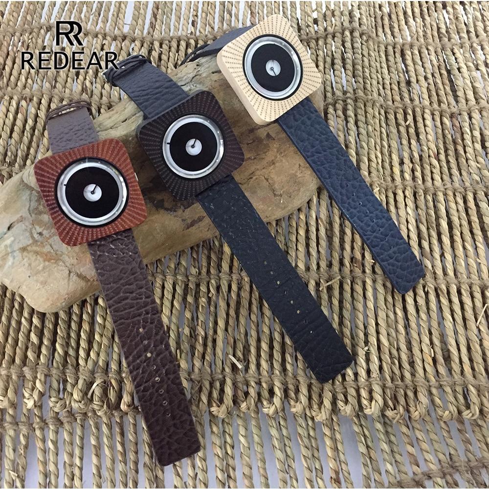 REDEAR Timepieces Bamboo Watch för Män Kvinnor Trä Quartz Klockor - Damklockor - Foto 6