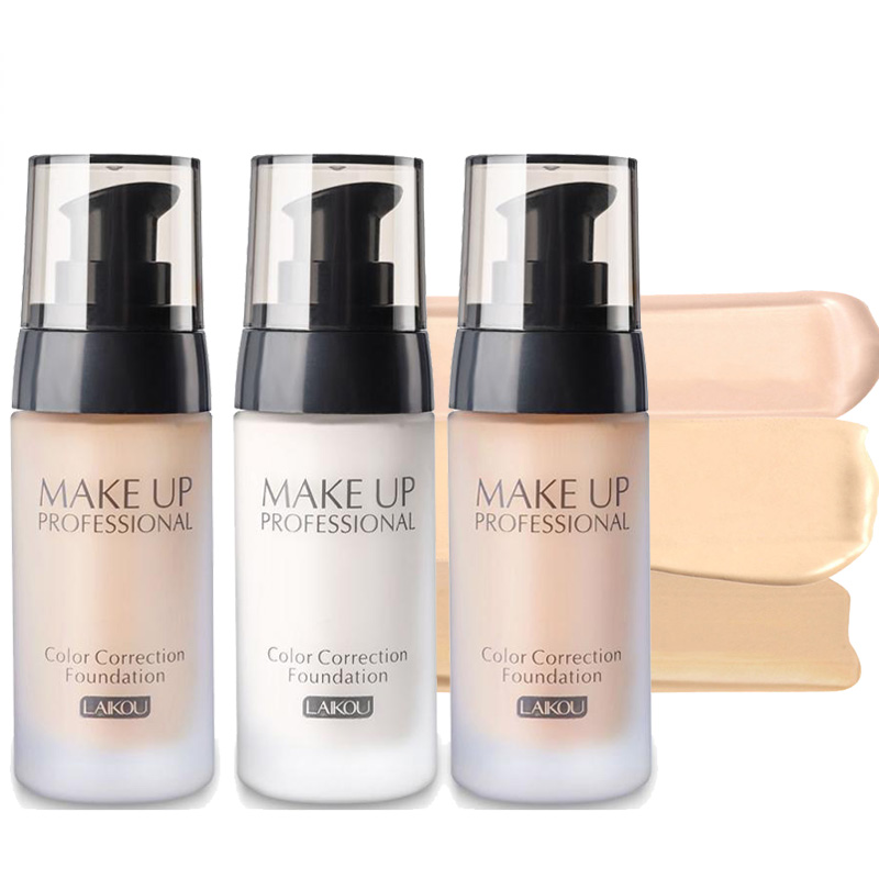 LAIKOU Cosmetics Liquid Concealer Makeup Star Cream Face Contour Foundation Concealer Blemish Flaw Cover Cosmetic Brand kozmetik in Concealer Base from Beauty Health