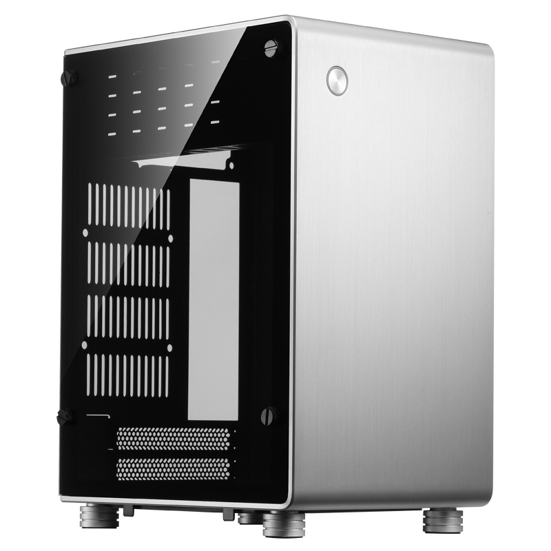 jonsbo U1 PLUS Mini-ITX Side through aluminum Computer case корпус для пк jonsbo u1 u2 u3 umx1 umx2 itx usb3 0