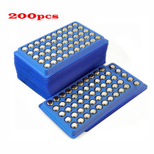 200Pcs AG13 High volume Button Cell Battery 357A A76 303 LR44 SR44SW SP76 L1154 RW82 RW42  Long Lasting watch toys
