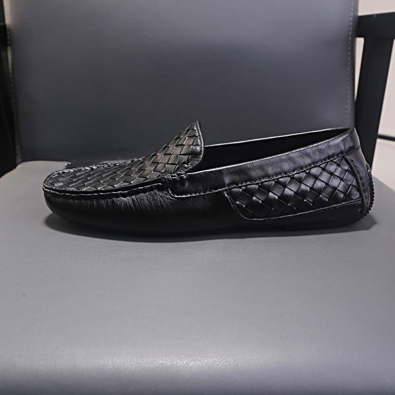 2019 men 39 s sandals leather shoes men men casual natural leather loafers men leather shoes male comfortable shoe