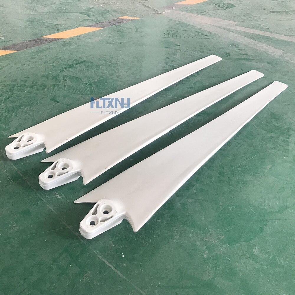 Lames en fibres de Nylon pour éolienne horizontale, pièces pour éolienne 100 W, 200 W, 300 W, 400W