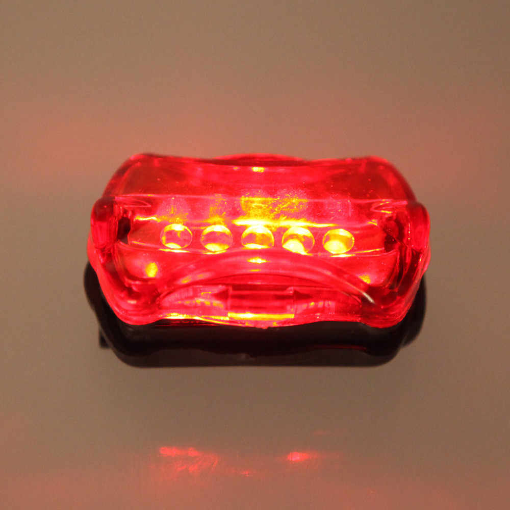Горячая 5 СВЕТОДИОДНЫЙ Фонарь велосипедный передний головной свет + задний отражатель фонарик + велосипедный звонок Звук Рога сигнализация Безопасность водонепроницаемый