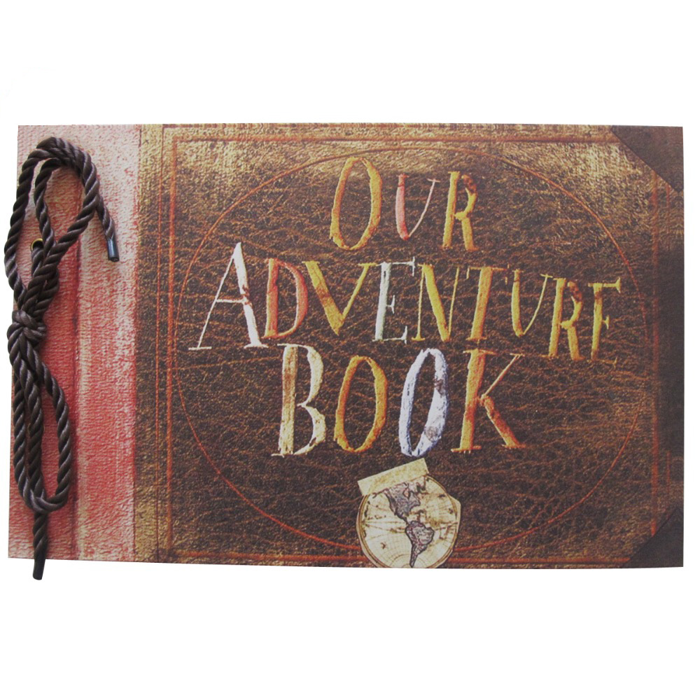 Vintage Book Cover Font ~ My adventure book our up