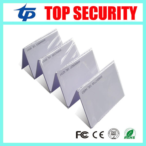 125KHZ RFID card proximity card smart card for access control and time attendance system TK4100 125KHZ RFID card rfid contactless card proximity id card rfid iso pvc card time attendance for access control 125khz with tk4100 em4100 chip