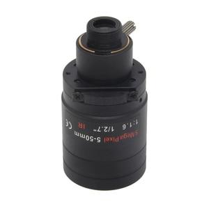 Image 4 - 5 メガピクセルバリフォーカル M12 マウント cctv レンズ 5 50 ミリメートル長距離ビュー 1/2。7 インチマニュアルフォーカスとズーム 1080 p/5MP ip/ahd カメラ