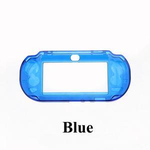 Image 3 - YuXi שקוף ברור מקרה קשה מגן כיסוי מעטפת עור עבור Sony פלייסטיישן Psvita PS Vita PSV 1000 קריסטל גוף מגן