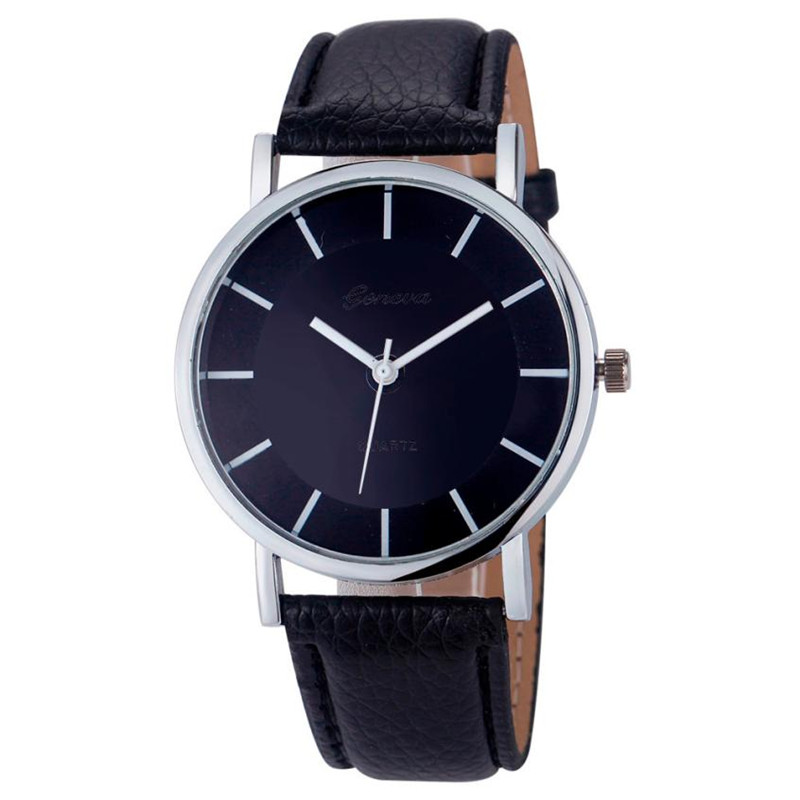 2017 Newly Designed Clock  Women Girl Lide Leather Band Analog Quartz Watches Wrist Watch Gift perfect gift love gift women watches heart pattern flower leather band clock quartz analog wrist watch june06 p40