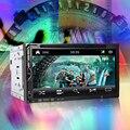 2 Din Автомобильный DVD Двойной Дин Автомобилей Видео Плеер 7 ''HD Сенсорный Экран Bluetooth Стерео Радио Аудио Автомобиля Поддержка Заднего Вида камера