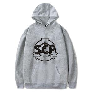 Image 5 - New Hoodies Men Scp Foundation hoodies Foundation Sweatshirt Mens Pullover Cotton Hoodie Autumn Winter Black Hoodie Unisex 4XL