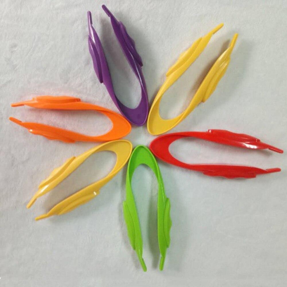 1 St Praktische Plastic Materialen Pincet Kleuterschool Educatief Speelgoed Experimenten Gereedschap