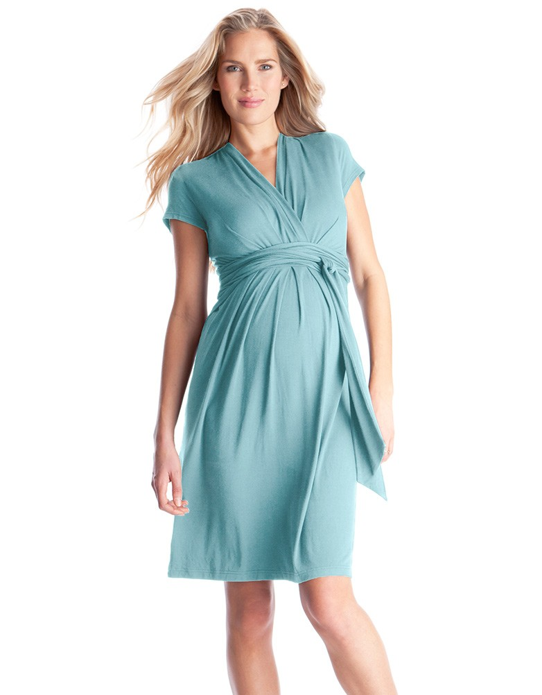 Maternity dress summer new sexy v-neck maternity dress