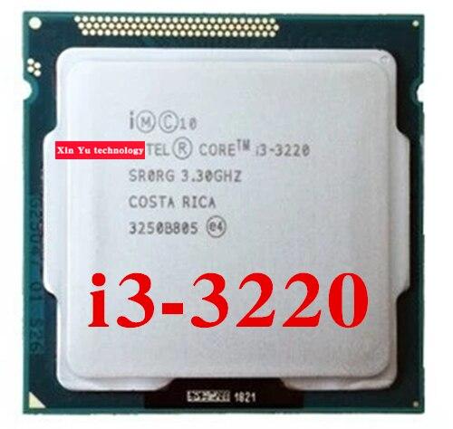 Core i3 3220 3.3 GHz 3 M SR0RG Dual Core cuatro hilos procesadores de escritorio de la, usado segunda mano  Se entrega en toda España