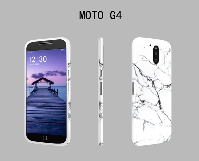 big sale 5383d 78e85 US $5.9 |Cool Nice Fashion Graphic Crack Pink Black White Marble Soft TPU  Back Cover For Motorola G4 Plus Stylish Hot Phone Cases Girls-in Fitted ...